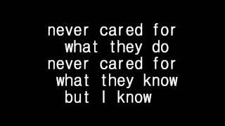 Download Metallica - Nothing else matter lyrics