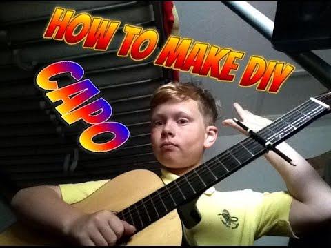 How to make a capo /D.I.Y homemade
