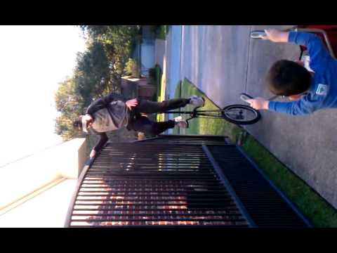 5 foot unicycle test ride.