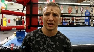 """TJ Dillashaw """"McGregor has big holes in his game! Garbrandt will be a nobody after I beat him"""""""
