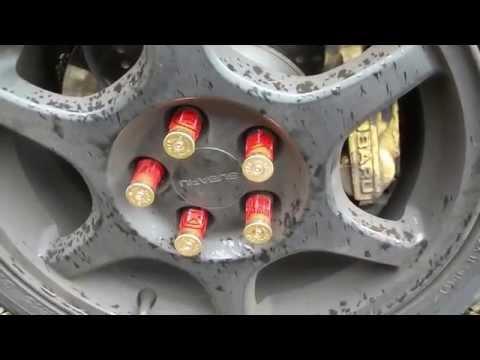 DIY Wheel nut covers