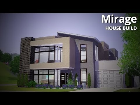 The Sims 3 House Building - Mirage