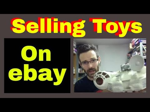 Selling toys on ebay - how to make money reselling on ebay