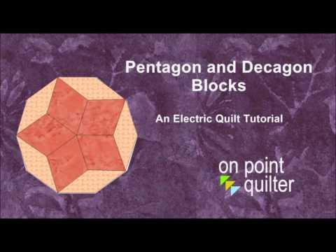Pentagons and Decagon Blocks