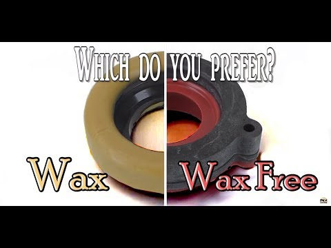 Toilet Gaskets: Wax vs. Non Wax