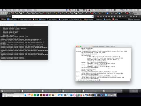 SpoofMAC Mac Address Spoofing (OSX)