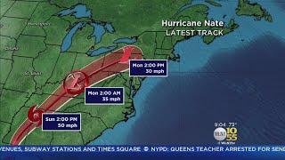 Tracking Hurricane Nate
