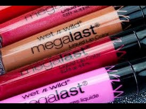 First Impressions- Wet and Wild Mega Last Long Wear Lip Color