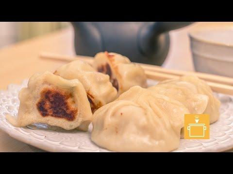 Silently Cooking - Pork Dumplings