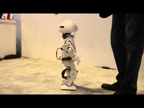 Meet Jimmy: Intel's walking, talking, programmable robot