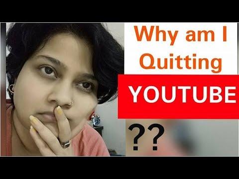 Why am I Quitting YouTube ?? | Dr Shalini