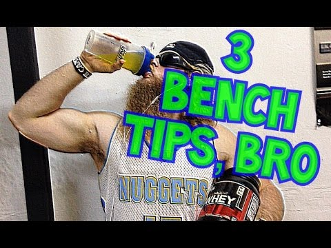 3 Bench Press Tips, Bro! - Untamed Strength