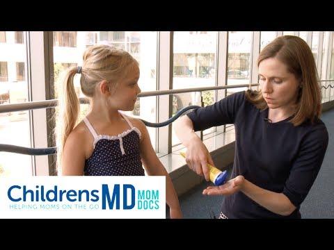 Tips for Applying Sunscreen to Children