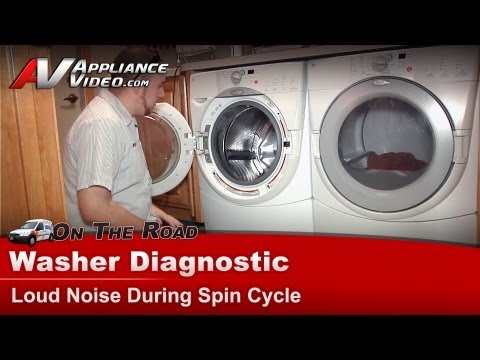 Washer has noise during spin cycle - Whirlpool, Maytag, Sears -Diagnostic & Repair