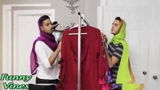 Zaid ali and nasreen New Funny Videos 2017.