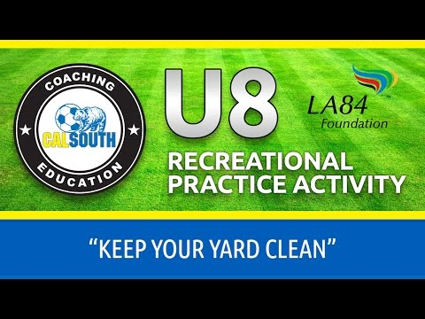 U8 Keep Your Yard Clean Activity