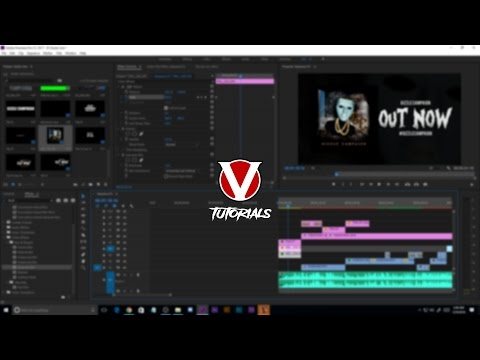 HOW TO - Music Video Intro/Outro Card
