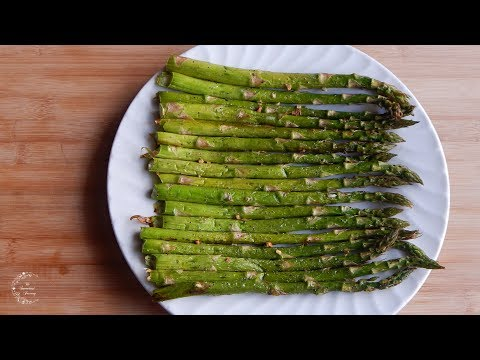 How to Cook Asparagus | Oven Roasted Asparagus Recipe | Side Dish Recipes | The Sweetest Journey