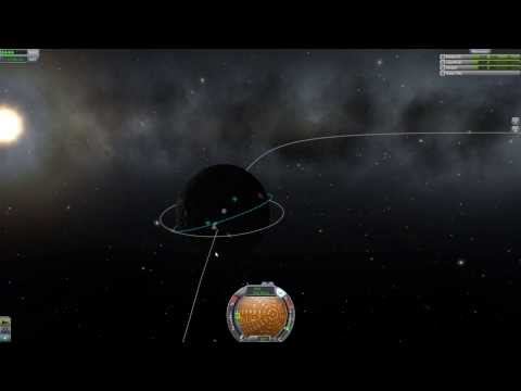 Kerbal Space Program - How to get into the orbit of Mun