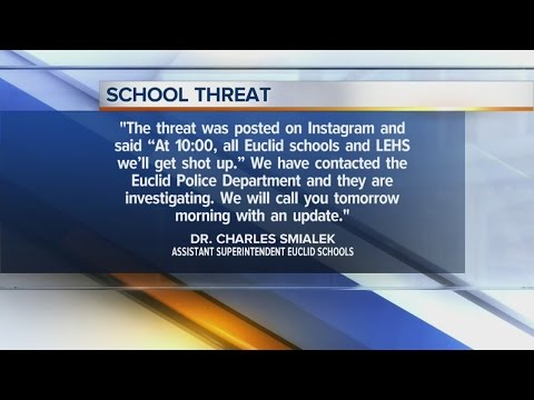 6AM: Euclid schools on alert, Lutheran East High School closed after threat posted to Instagram
