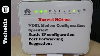 How to Upgrade Firmware of Huawei HG 630a | Hard Reset Modem