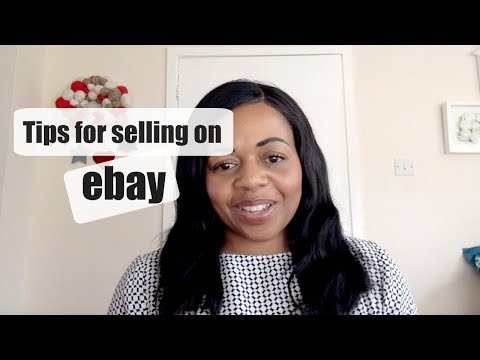 Beginner tips for selling on eBay