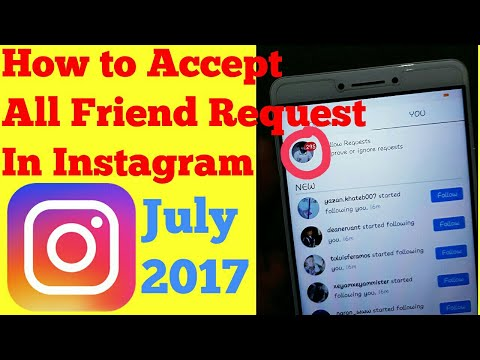 Accept all friend request in Instagram in 1 min 💯%