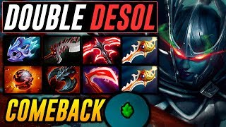 PA DOUBLE DESO 49 KILLS COMEBACK GAME Dota 2