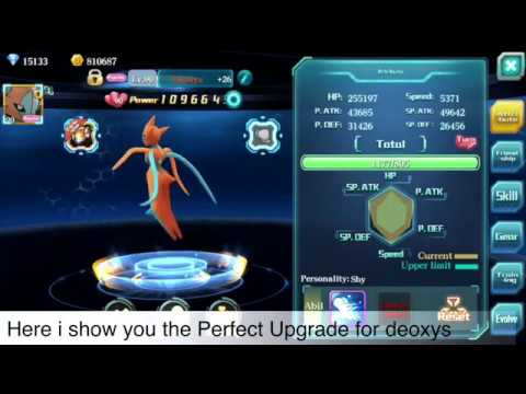 Pokeland Legends - Fate World- DEOXYS Perfect Upgrade 4 Forms and Testing