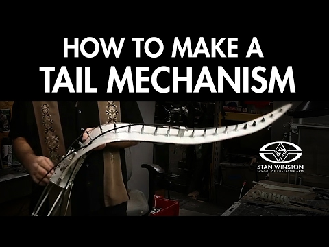 How to Make a Tail Mechanism: ZATHURA's Zorgons - FREE CHAPTER