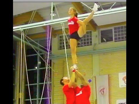 Winter Cheerleading Stunts
