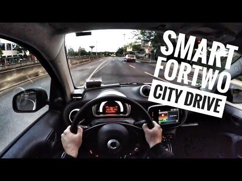 Smart Fortwo 1.0 (2017) - POV City Drive
