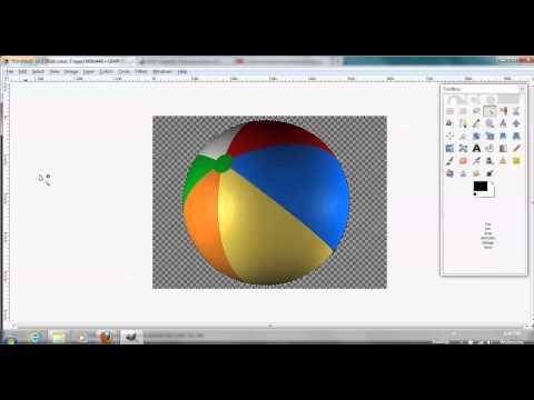 Creating a Transparent Background Using Gimp 2.8