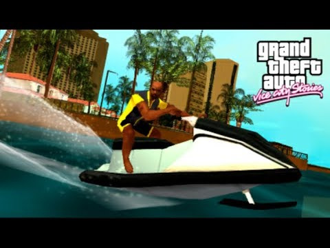 HOW TO TAKE A MOTOR BOAT IN GTA VICE CITY AND DRIVE IT