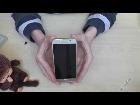 Samsung Galaxy A5 (2017): How to insert the SIM card? Installation Tutorial