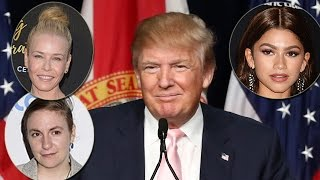 Celebs React to Donald Trump Video Leak