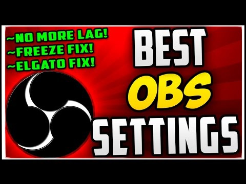 How To Make OBS NOT LAG When Recording & Streaming (Best OBS Recording Settings 2018 & Streaming!)