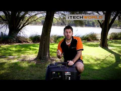 Redback 5KVA Inverter Generator