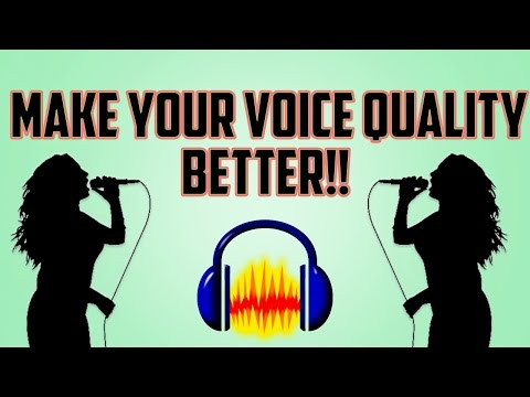 Hindi | Make Your Voice Better | improve sound quality | audacity editing