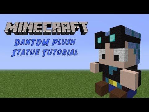 Minecraft Tutorial: DanTDM (Blue Hair) Plush