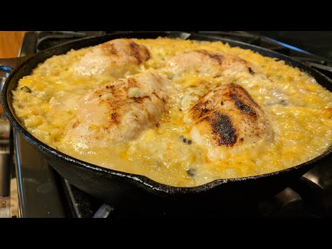 Great Family Meal  - Easy Chicken and Rice Casserole