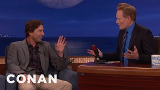 Conan Asks Luke Wilson To Be His Friend In Real Life  - CONAN on TBS