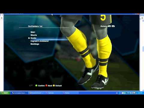 How to make Dortmund in PES 2013