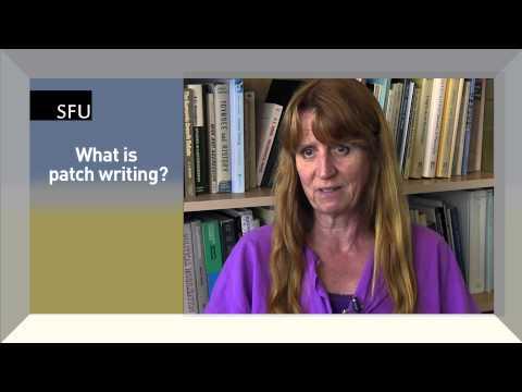 SFU -- Philosophy Senior Lecturer discussing plagiarism