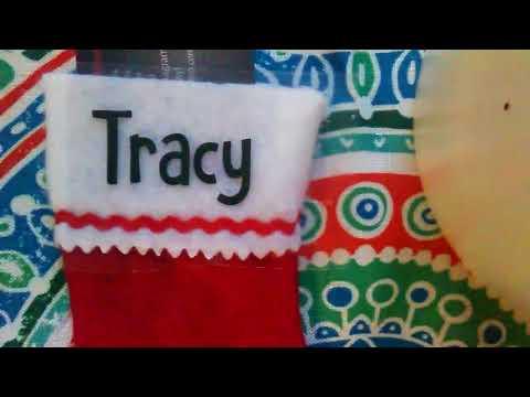 How To Apply HTV Onto Felt Mini Stockings With an Iron