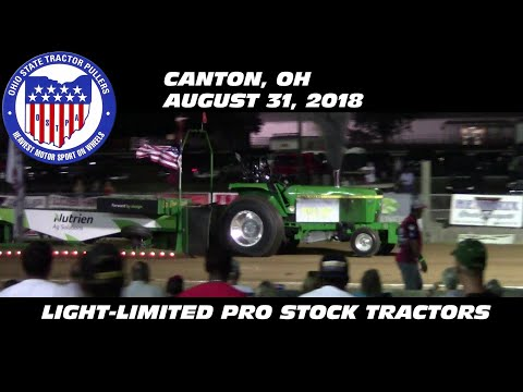 8/31/18 OSTPA Canton, OH Light-Limited Pro Stock Tractors