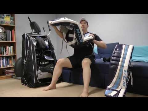 How to Break-in Hockey Goalie Equipment