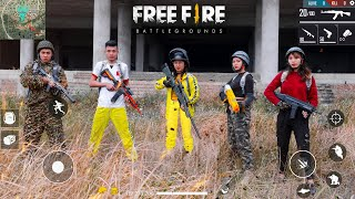 Player Gaming PUBG \ Free Fire in real life | Nerf Gun Battale - Funny Video