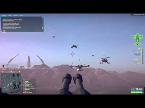 Flugmanöver PlanetSide2