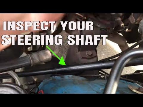 How To Check The Intermediate Steering Shaft In Your Vehicle